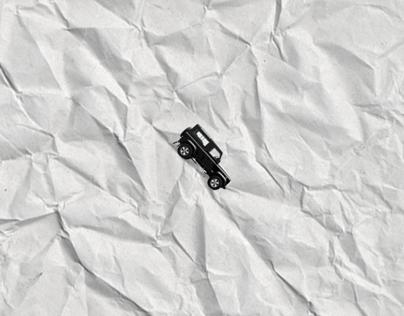 land rover defender (print ad)
