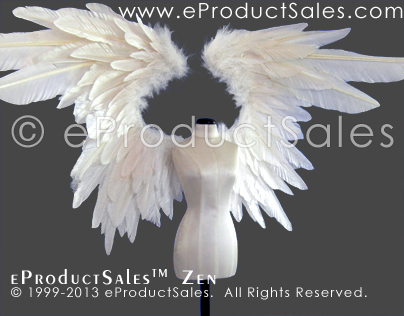 eProductSales ZEN  Feather Angel Wings for BJD DOLLS