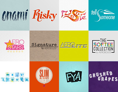 Various Logos & Type Treatments