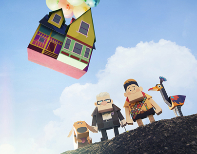 MOMOT DISNEY PIXAR 'UP'