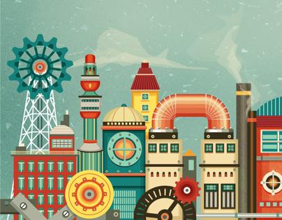 Steampilots - game illustration