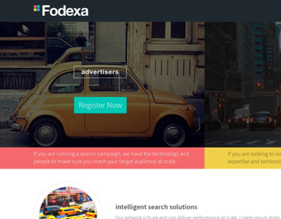 Fodexa website design