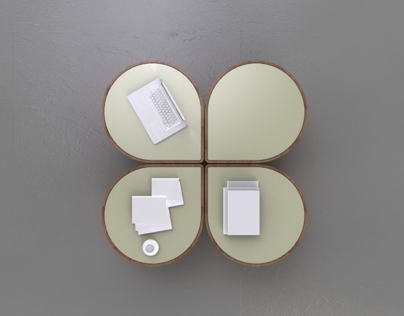 CLOVER -coffeetable