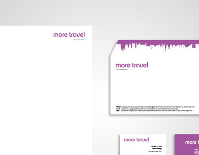 Identity / More Travel Tourism Agency