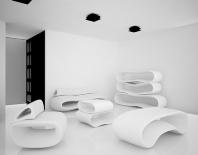 Kalmari  - futuristic furniture
