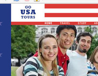 Go USA Tours  - web design