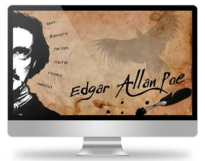 2008 - Website about Edgar Allan Poe