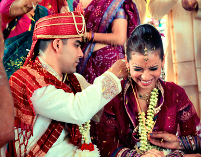 Rakesh & Cheryl's Temple Wedding