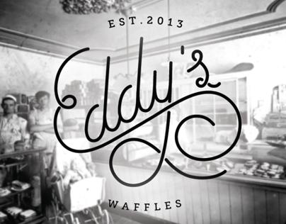 Eddys Waffles logo