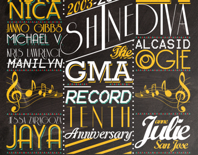 GMA Records 10th Anniversary