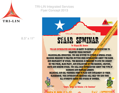 TRI-LIN Integrated Services Branding