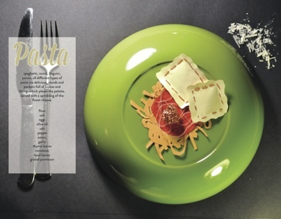 Seven Meals: Food in Cutouts