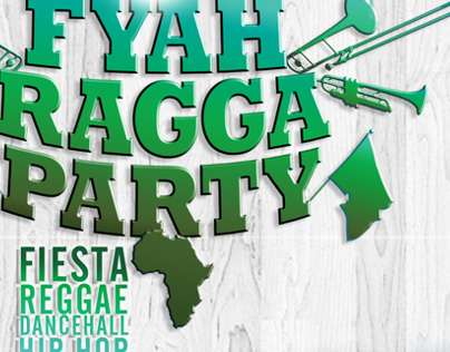 Fyah Ragga Party | FIesta Reggae-Dancehall-HipHop
