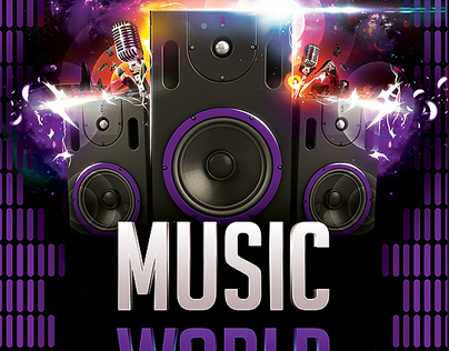 Music World Flyer Template