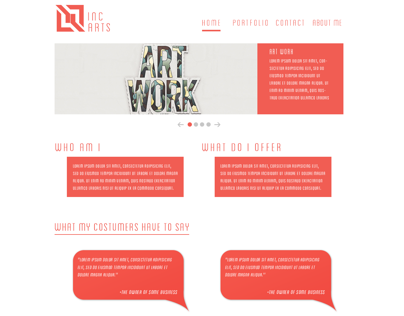 IncArts Web Design