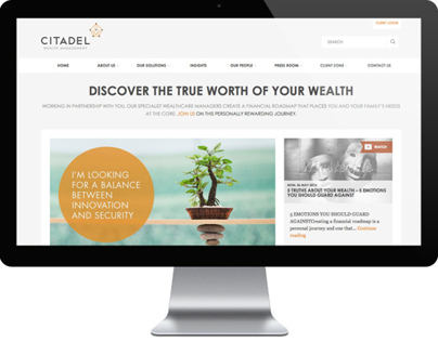 Citadel Corporate Website