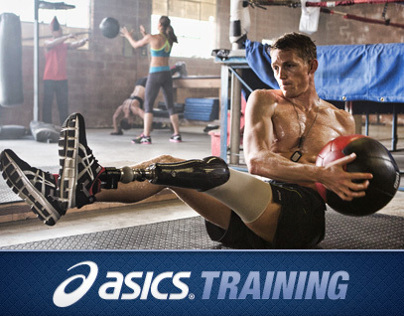 Asics Training Web App