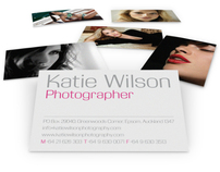 Katie Wilson Photography - Branding, stationery and web