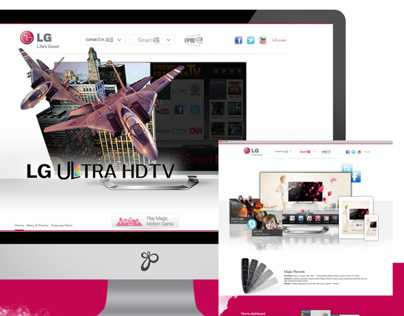 LG Electronics (LED Smart 3D TV)