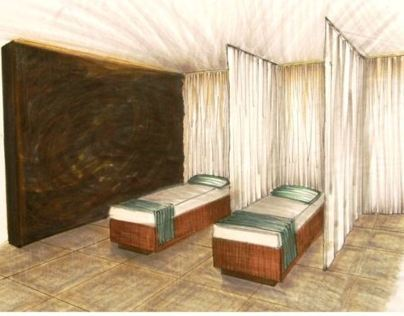 Student Work: Spa Design