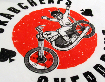 Screen Printed Crabcheaps T-shirts