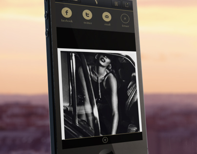 Vogue // Teaser Iphone app
