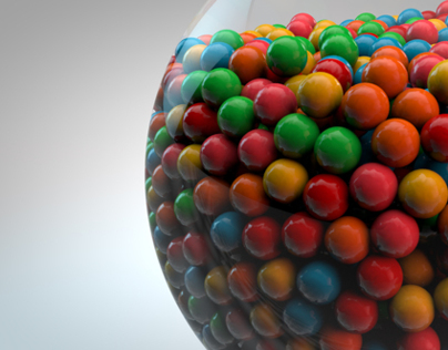 Exploding Gum Ball Machine