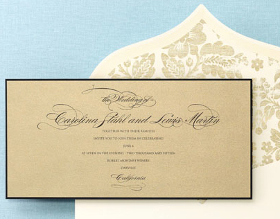 BRIDES Fine Wedding Papers