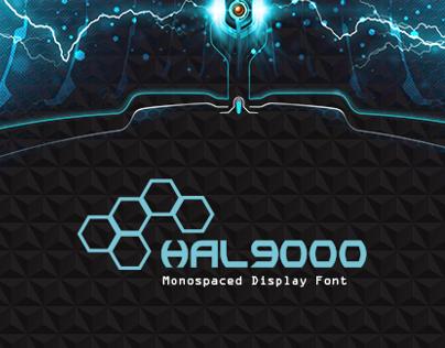 HAL9000 || Font Design
