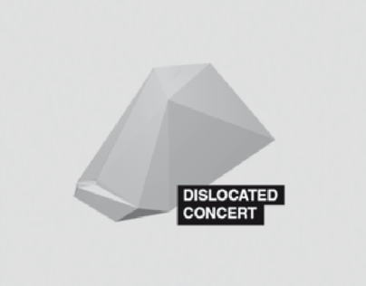 Dislocated Concert logo, 2013
