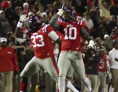 Ole Miss Football: Fins Up!
