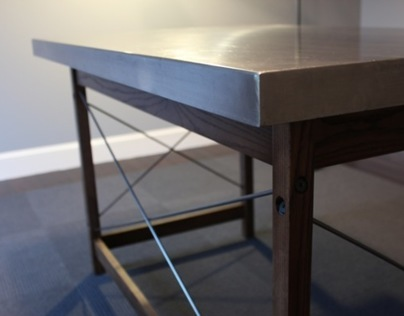 Stainless Steel Desk