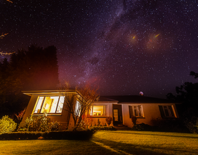 Travel Photography at New Zealand 2013 (Night Scene)