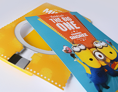 Despicable Me / Minion Birthday Invite