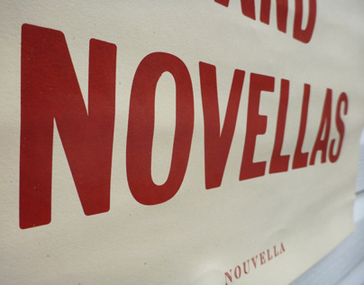 Draft Beer & Novellas - Poster