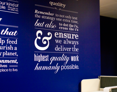 FLM+ Advertising Wall Graphics