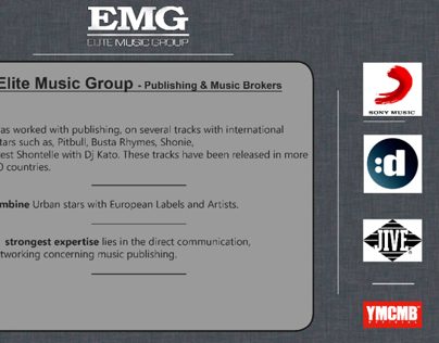 EMG Music Group - 2013 - PDF quick presentation