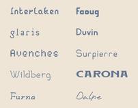 10 days / 10 fonts Part 1