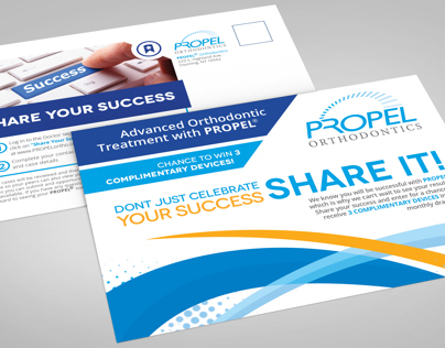 Propel Orthodontics Postcard Mailer