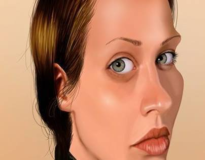 Fiona Apple caricature