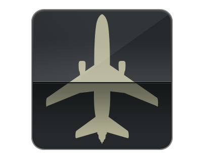 Flight information for iPad
