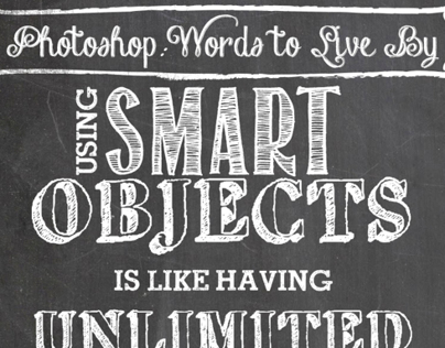 Photoshop: Words to live by - #1