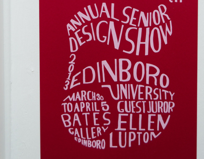 5th Annual Senior Student Design Show