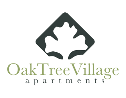 OakTree Village Apartments Logo Design