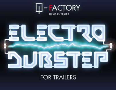 CD cover project for ELECTRO DUBSTEP for Trailers