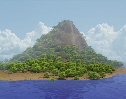 Creating an Island in Blender
