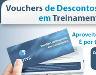 Banner Voucher de Descontos TOTVS