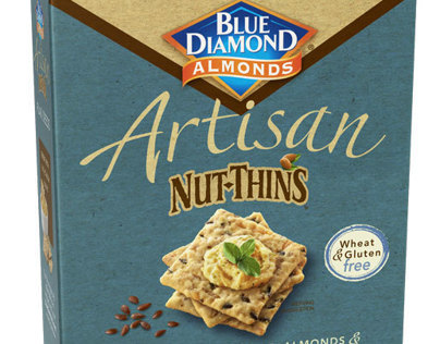 Blue Diamond Artisan Nut Thins