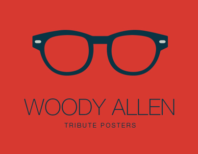 Woody Allen Tribute Posters