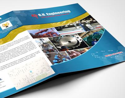 GUESI Folder Brochure Design